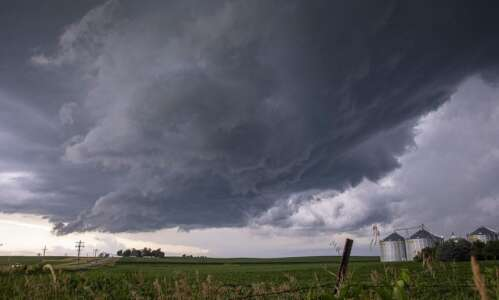 Stormy day in Eastern Iowa leaves some damage behind
