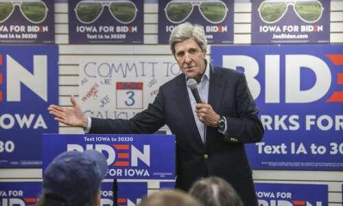 John Kerry is back in Iowa, and he's feeling nostalgic