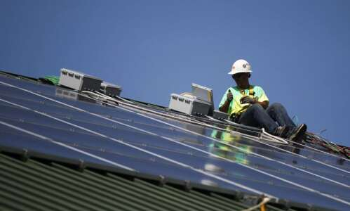 Energy industry optimistic about future of solar power in Iowa