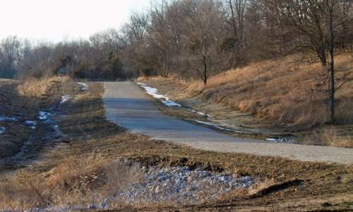 3 more miles of Marion's Grant Wood Trail getting paved
