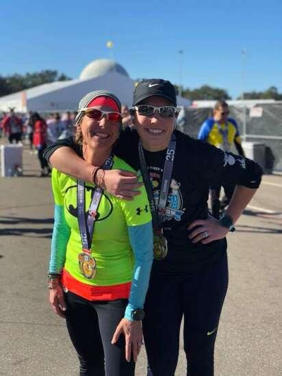 Eastern Iowans Debra Carneol, Sarah Lacina are taking on World Marathon Challenge