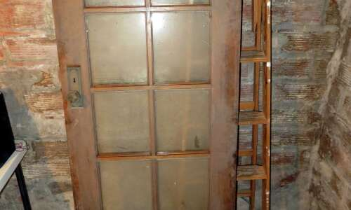 Bringing wooden doors back to life