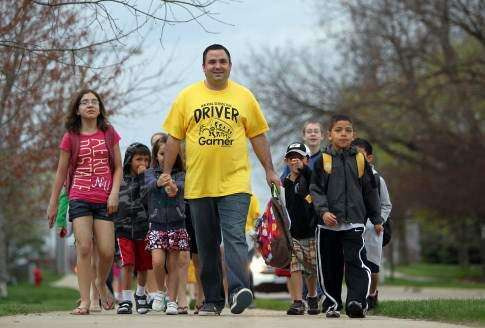 Increased participation sought for Walk to School Day in Iowa