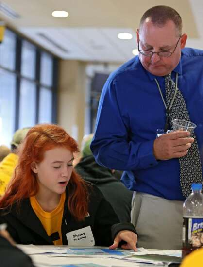 Students getting hands-on experience in architecture, engineering