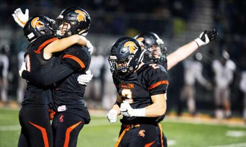 Solon bows up against Iowa City Liberty in defensive Class…