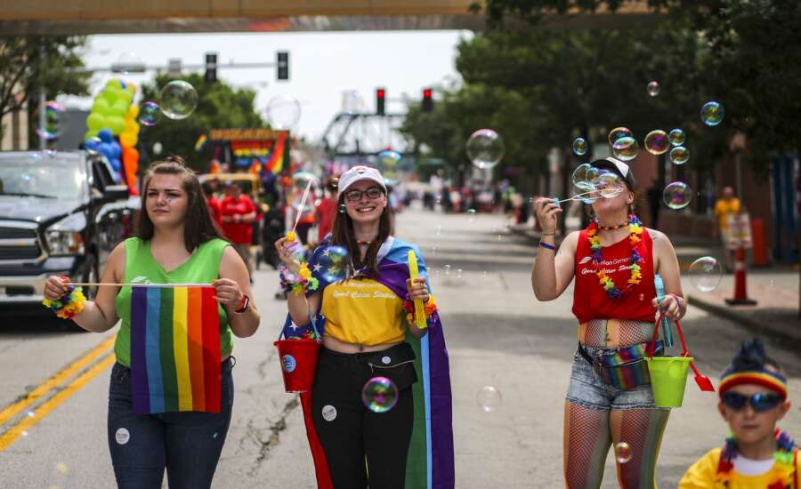 Iowa's LGBT groups try to balance community with COVID-19