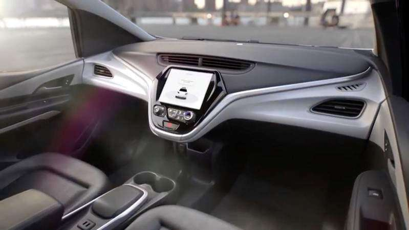 GM's latest car gives up steering wheels, pedals