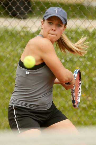 Small now a three-time MVC athlete of the year