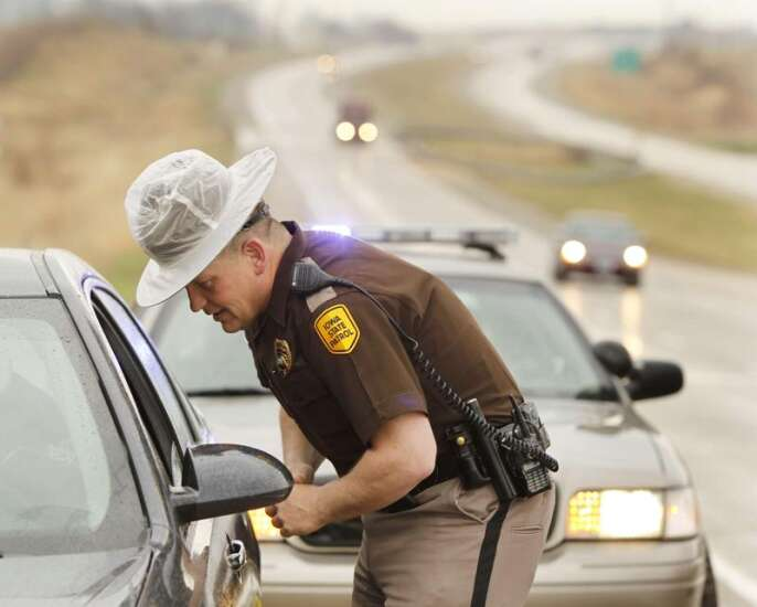 Republicans back Gov. Kim Reynolds on sending Iowa state troopers to the border