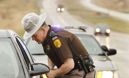 Republicans back Gov. Kim Reynolds on sending Iowa state troopers…