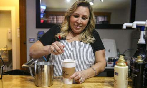 Mammitas in Iowa City offers coffee, Mexican pastries and flowers…