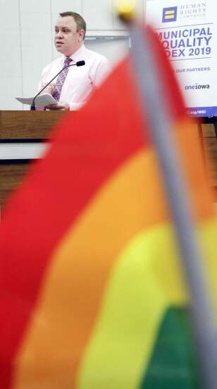 Iowa City, Cedar Rapids again earn perfect scores for LGBTQ equality