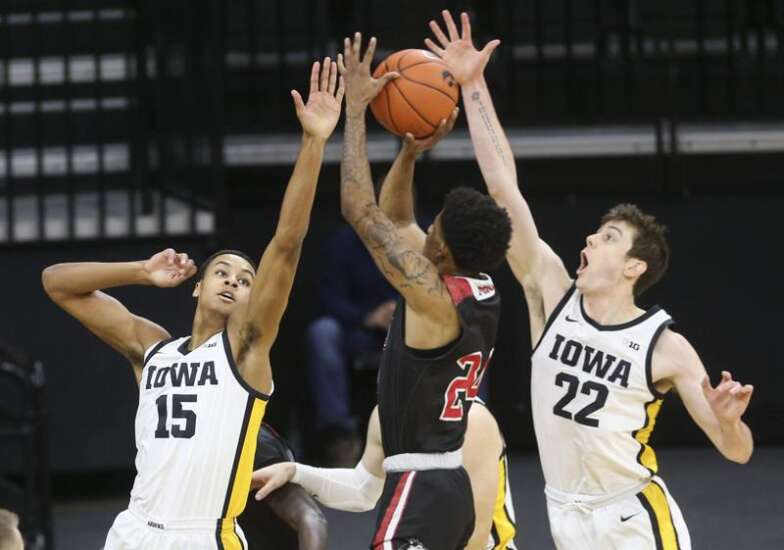 The thing Iowa men's basketball team knows today: It's deep
