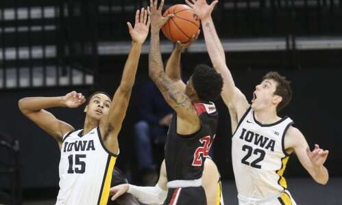 Hawkeye men's basketball team knows this: It's deep