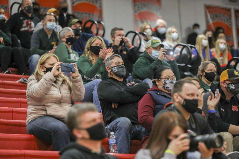 Photos: Cedar Rapids Kennedy vs. Linn-Mar, Iowa high school wrestling