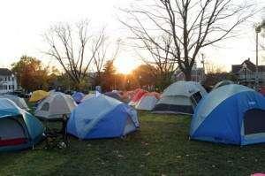 Few Iowa City 'occupiers' still occupying park