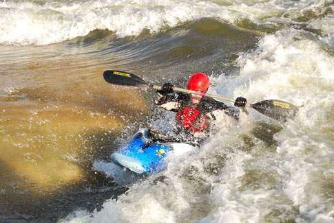 Whitewater feature enhances downtown Elkader