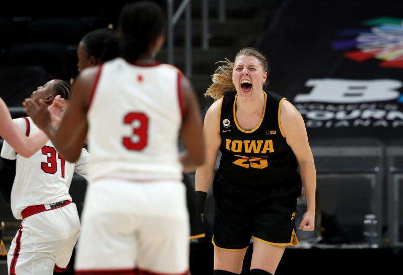 Iowa Hawkeyes are early birds as NCAA women's basketball tournament tips off