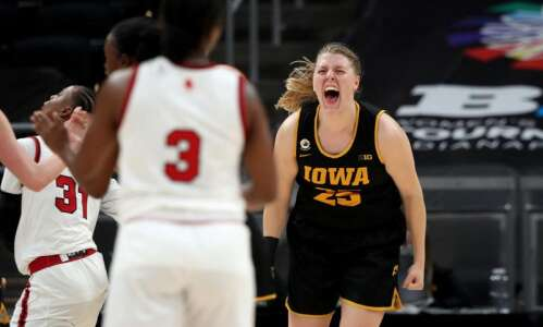 Iowa Hawkeyes are early birds as NCAA women's basketball tournament…