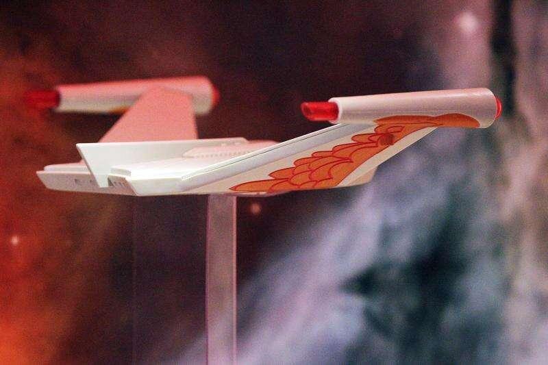 50 years of Star Trek on display