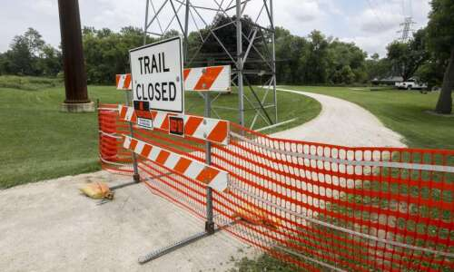 Section of Boyson Trail closed for derecho waterway cleanup