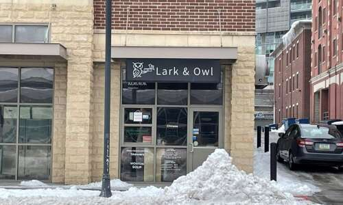 Lark and Owl restaurant in Iowa City for sale for…