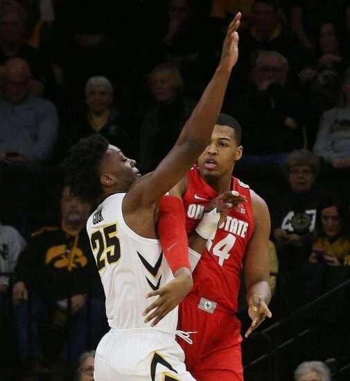 Iowa basketball defense well-oiled vs. Kaleb Wesson, Ohio State