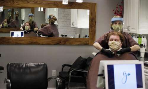North Liberty salon rebrands, adds organic beauty products as the…