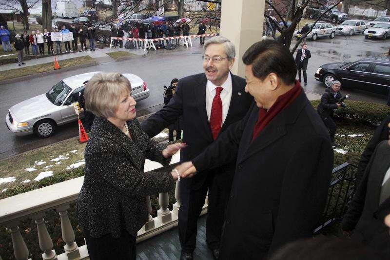 Xi still an 'old friend,' but Branstad worried by China's authoritarian drift