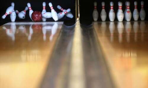 A bowling night to remember for Brooke Post