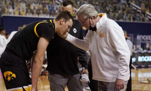 Jack Nunge transferring out of Iowa men's basketball program