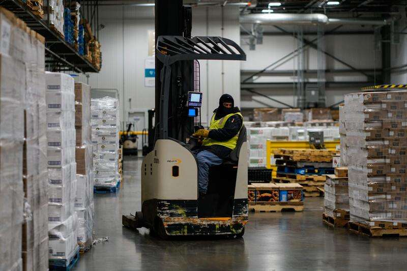 All that online grocery shopping is causing a cold storage shortage