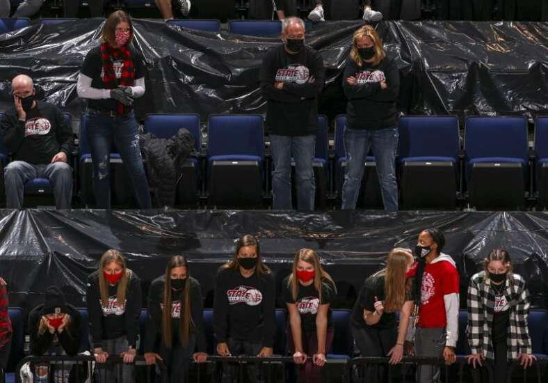 Photos: North Scott vs. Gilbert, Iowa Class 4A state volleyball quarterfinals