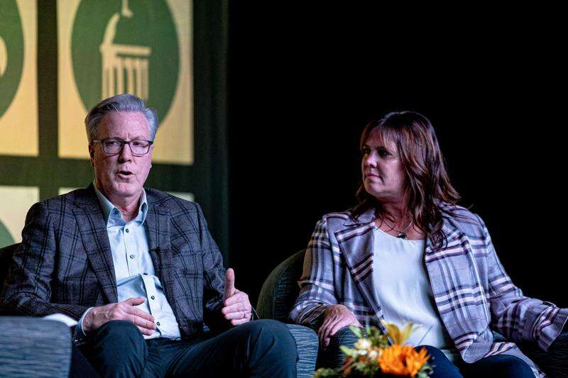 McCafferys urge giving to others as a higher purpose