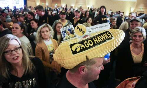 Photos: Hawkeye Huddle for the 2019 Holiday Bowl