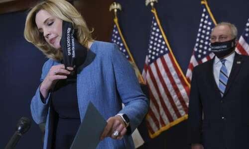 Rep. Ashley Hinson votes against immigration bills, criticizes Rita Hart…