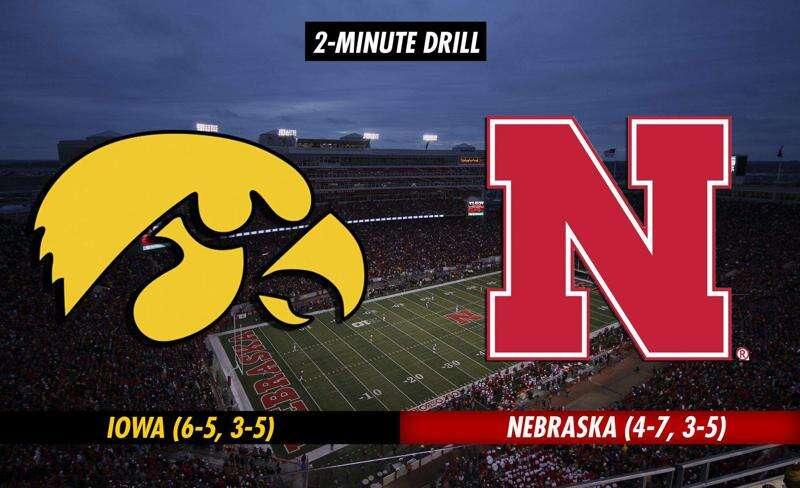 2-Minute Drill: Iowa Hawkeyes at Nebraska Cornhuskers