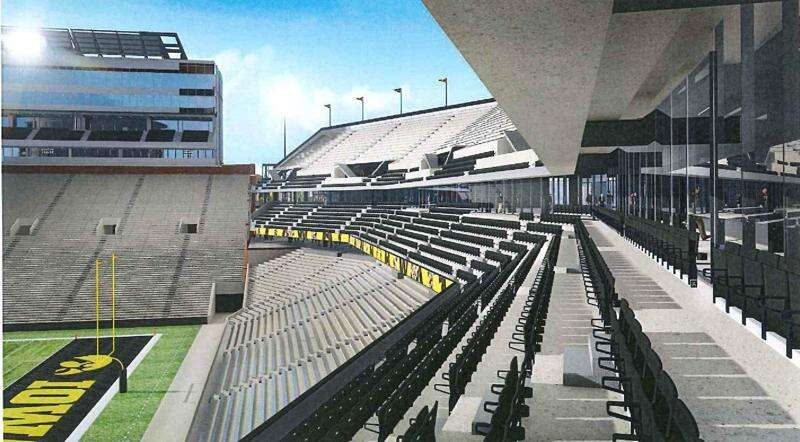 Iowa's Big Ten TV money is going into the north end zone