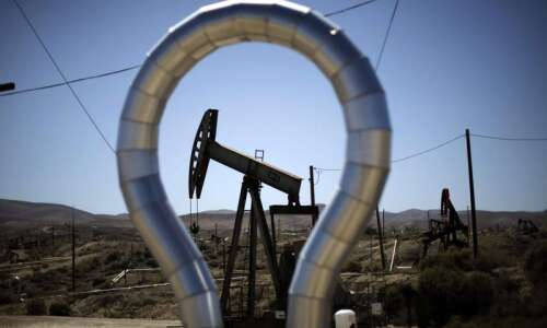 Crude oil hits six-year low on growing stocks