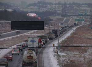 Accident slows Interstate 380 traffic south of Cedar Rapids