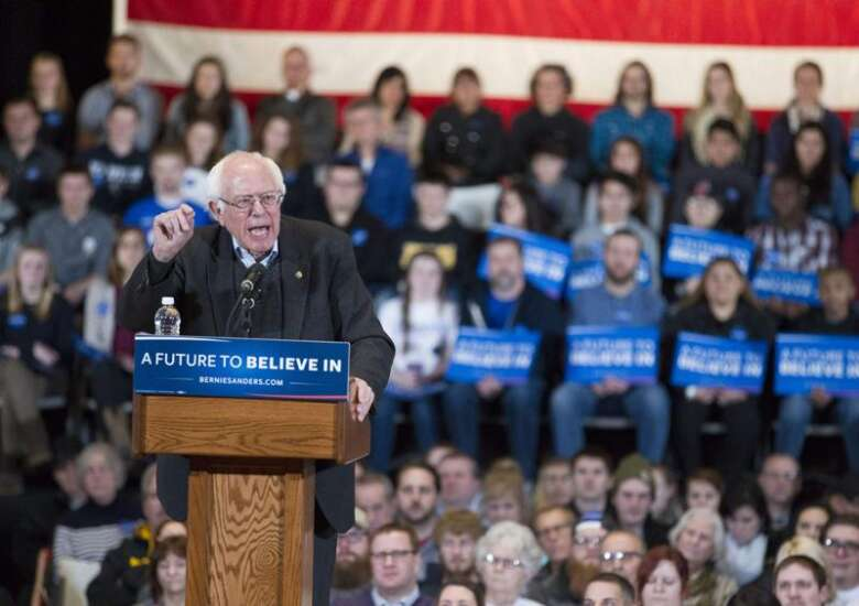 Sanders: Time for Iowa to make history