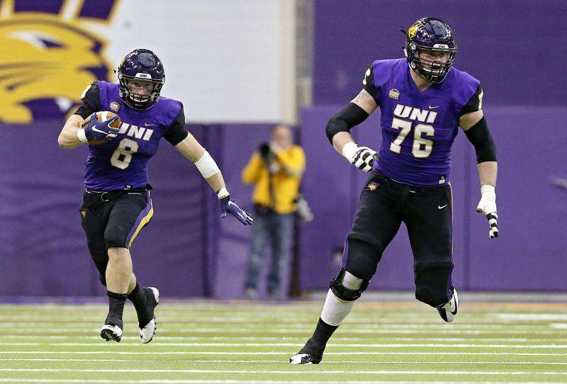UNI's Spencer Brown, Elerson G. Smith poised to make NFL draft history