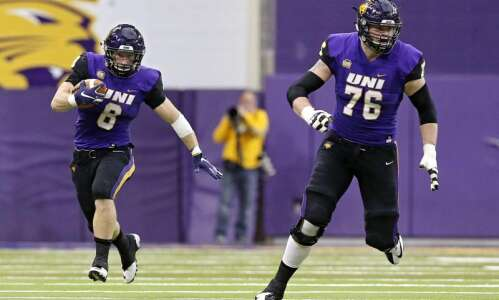 UNI's Spencer Brown, Elerson G. Smith poised to make NFL…