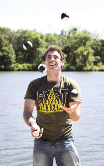 Festival to bring hundreds of jugglers to Cedar Rapids this month