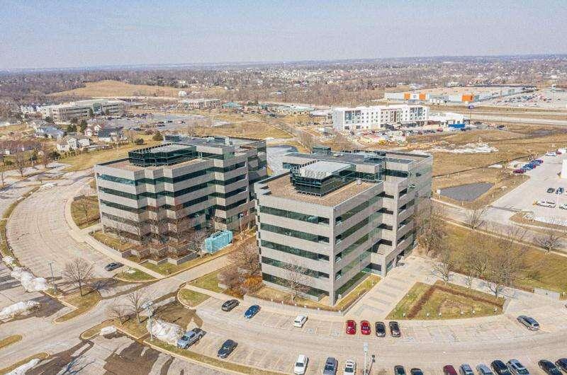 Six Transamerica office buildings in Cedar Rapids for sale