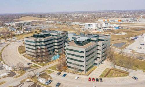 Six Transamerica office buildings in Cedar Rapids for sale