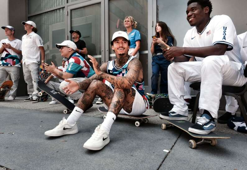 Meet 2 skateboarders headed to the Olympics — and 2 who helped pave the way