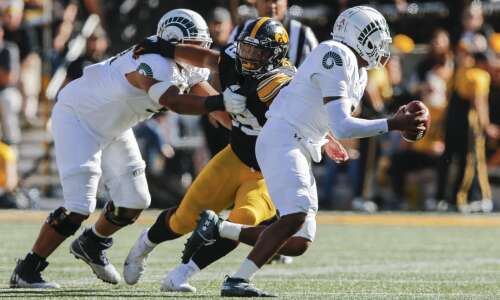 Iowa defense faced new challenge with Colorado State's mobile quarterback