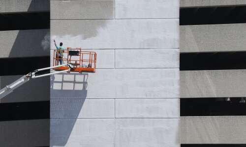 Iowa City murals deliver messages on white privilege, Black joy