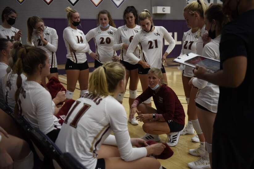 Photos: Coe vs. Cornell volleyball